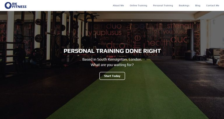 RK Fitness Launches Website